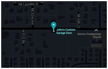 John's Custom Garage Doors on Google Maps